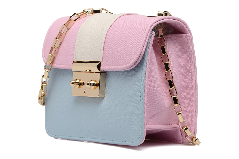 Handbags L'Aetelier Caesars ANDY Shoulder bag S Blue model view