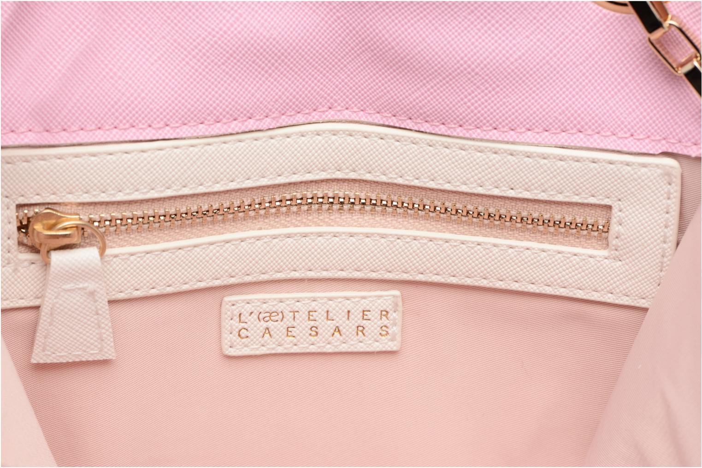 Handbags L'Aetelier Caesars ANDY Shoulder bag S Blue back view