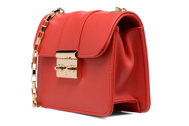 Handbags L'Aetelier Caesars ANDY Shoulder bag S Red model view