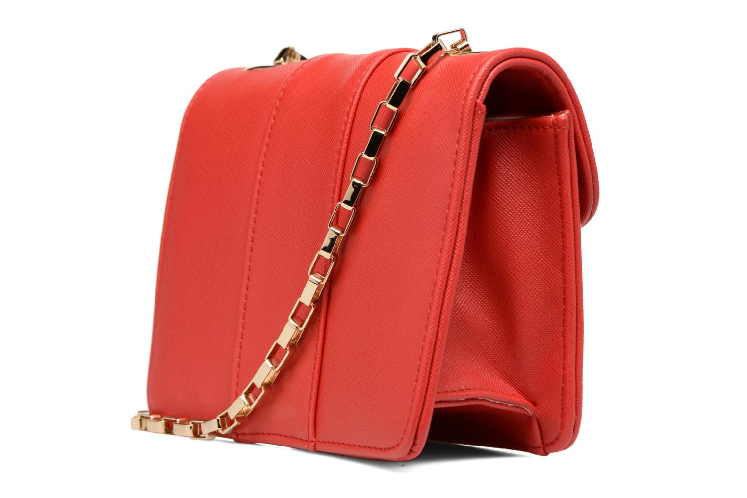 Handbags L'Aetelier Caesars ANDY Shoulder bag S Red view from the right