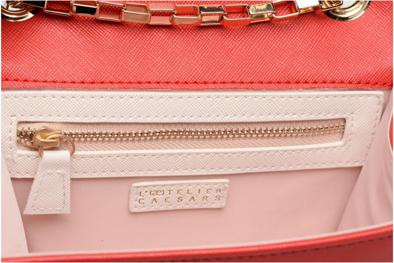 Handbags L'Aetelier Caesars ANDY Shoulder bag S Red back view
