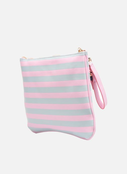 Wallets & cases L'Aetelier Caesars HALY Pochette Pink view from the right