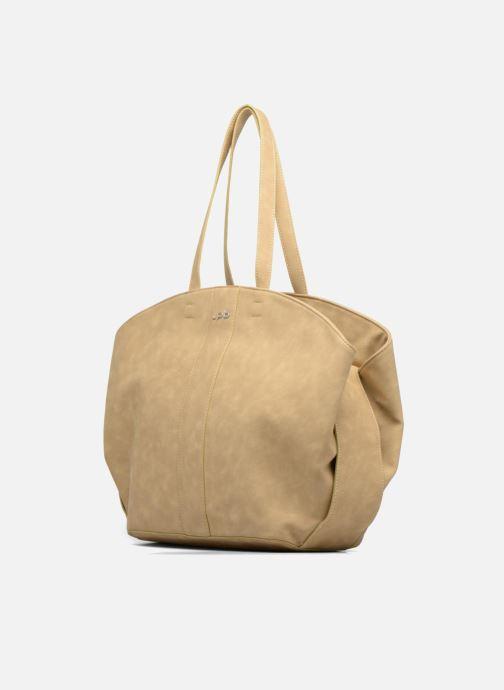 Handtaschen Les P'tites Bombes Sac bande jacquard braun schuhe getragen