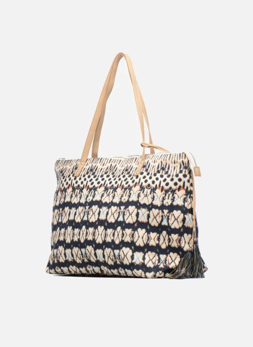 Handtaschen Les P'tites Bombes Sac détail franges mehrfarbig schuhe getragen