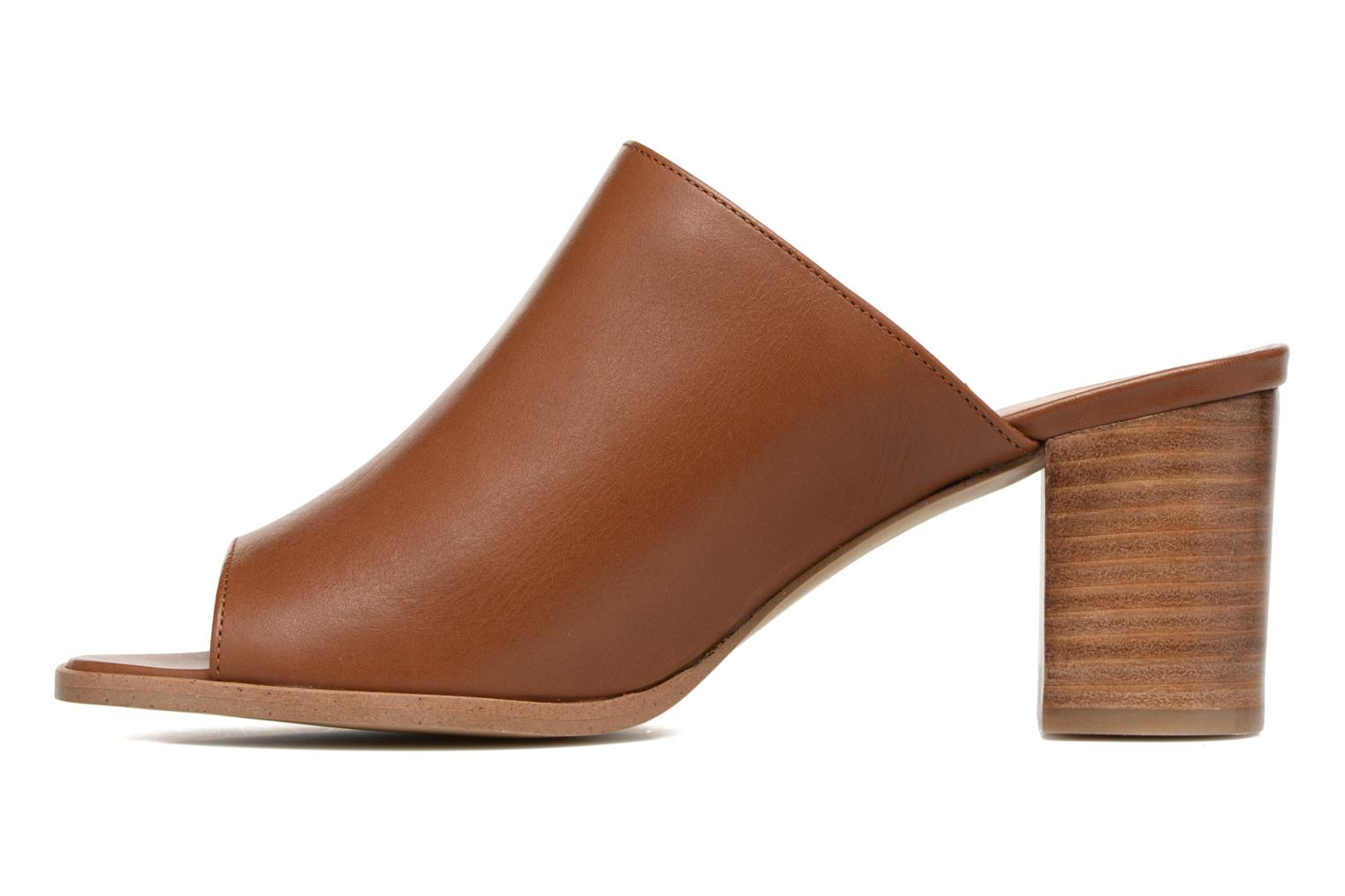 Mules & clogs Georgia Rose Esmule Brown front view