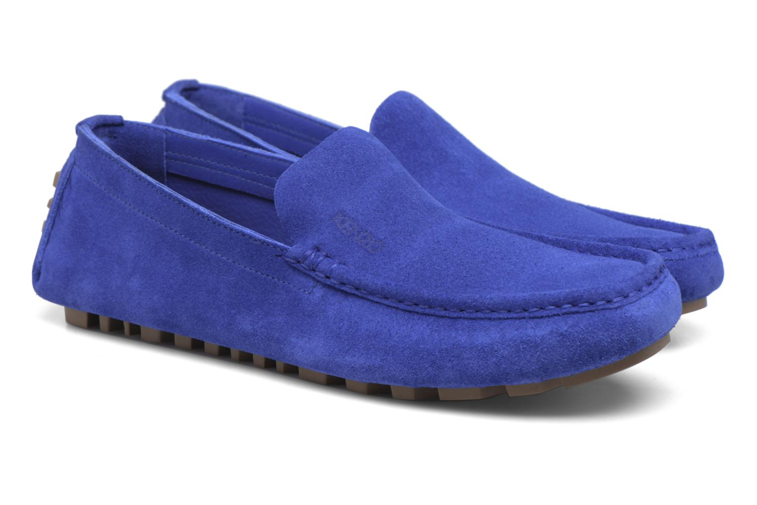 Loafers Kenzo Lane Blue 3/4 view