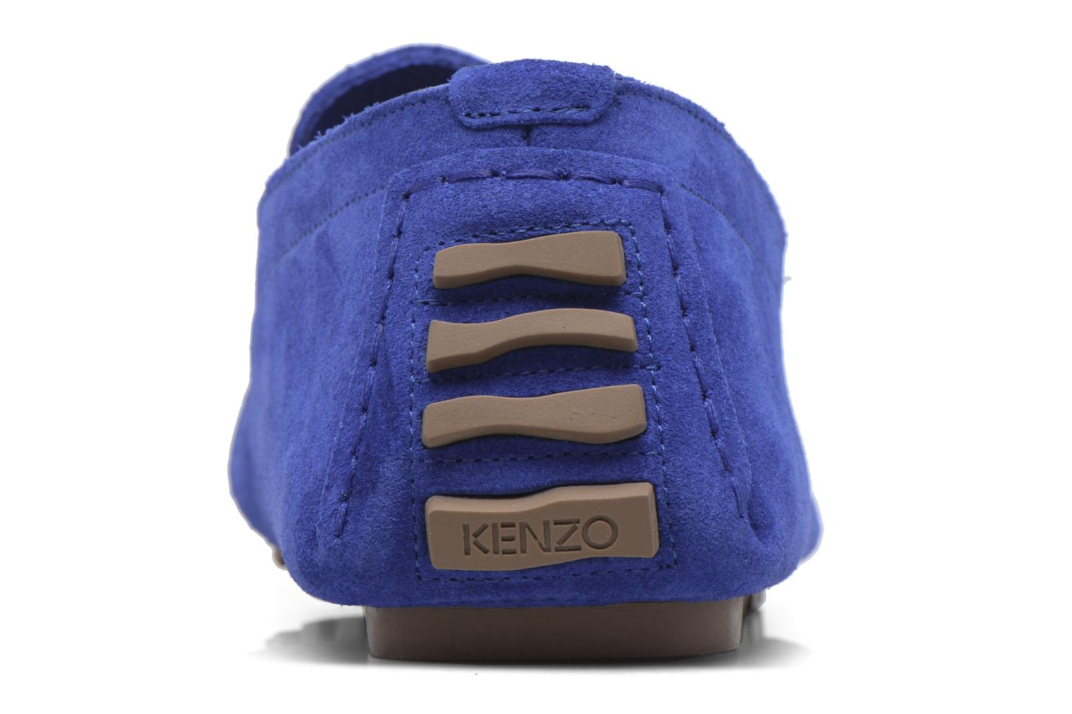 Loafers Kenzo Lane Blue view from the right