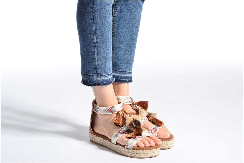 Sandales et nu-pieds Xti Loaloa 46902 Marron vue bas / vue portée sac