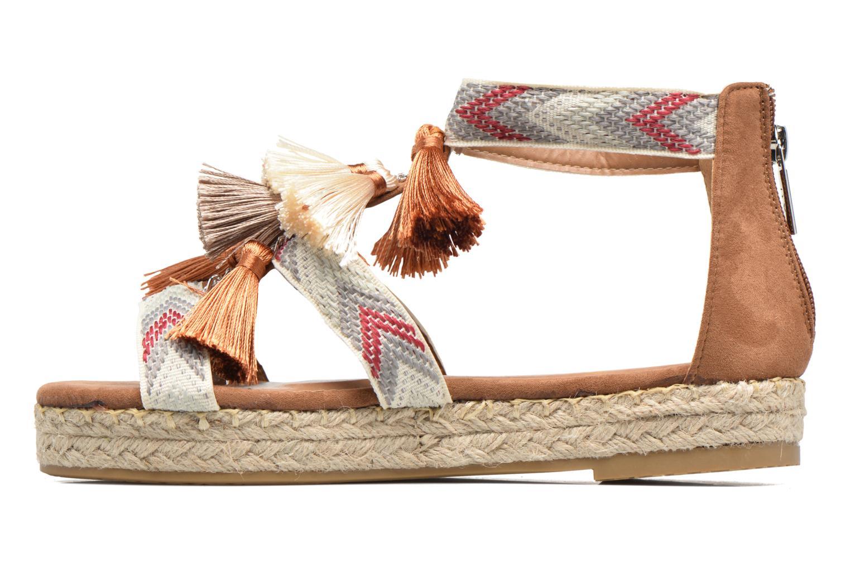 Sandales et nu-pieds Xti Loaloa 46902 Marron vue face