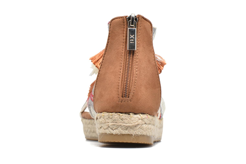 Sandales et nu-pieds Xti Loaloa 46902 Marron vue droite