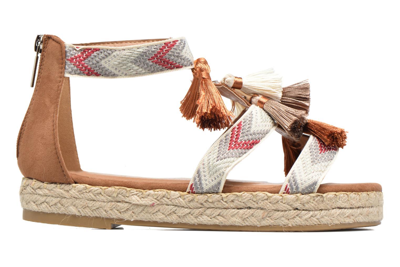 Sandales et nu-pieds Xti Loaloa 46902 Marron vue derrière