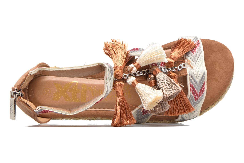 Sandales et nu-pieds Xti Loaloa 46902 Marron vue gauche