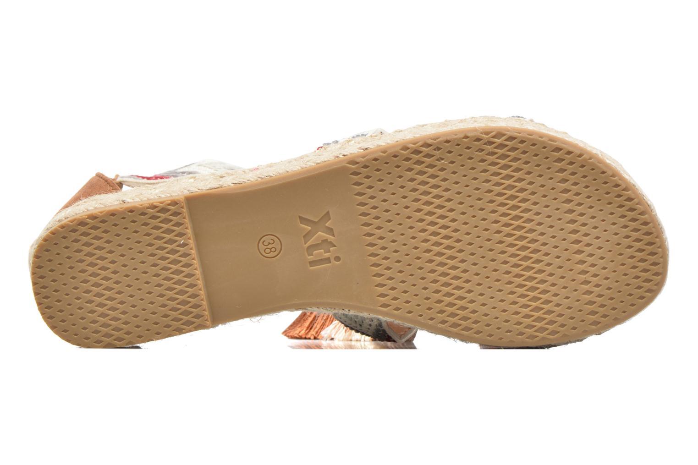 Sandales et nu-pieds Xti Loaloa 46902 Marron vue haut
