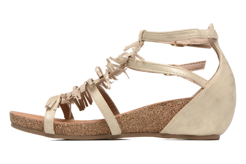 Sandaler Xti Bama 46557 Guld og bronze se forfra