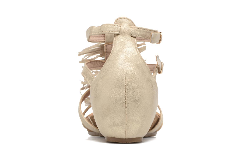 Sandaler Xti Bama 46557 Guld og bronze Se fra højre