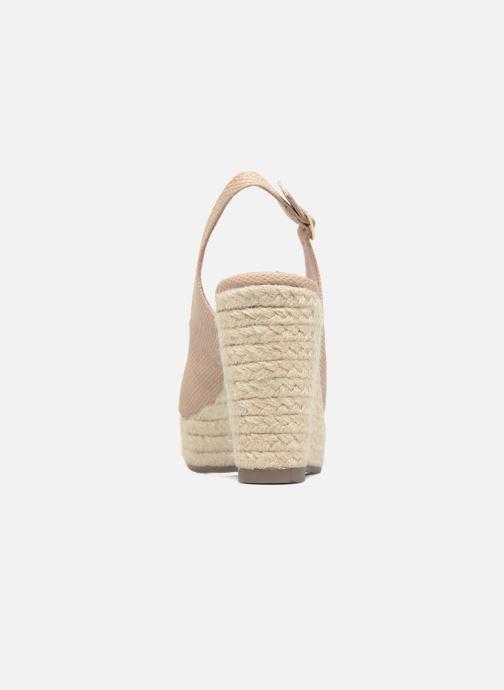 Sandales et nu-pieds Xti Mawa 46730 Beige vue droite