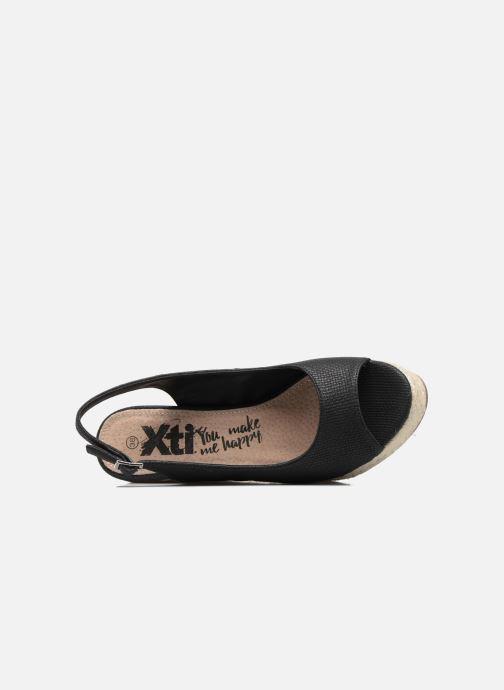 Sandales et nu-pieds Xti Mawa 46730 Noir vue gauche