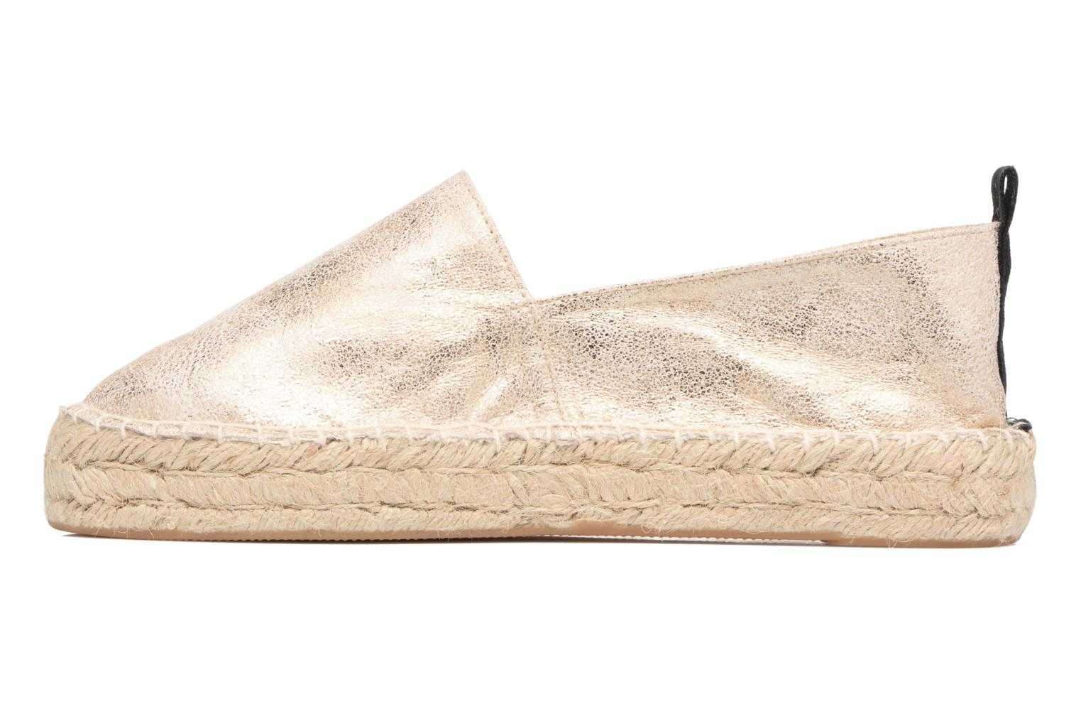 Espadrilles Xti Caz 46946 Bronze and Gold front view