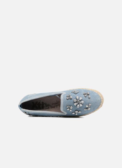 Espadrilles Xti Flobr 46917 Bleu vue gauche