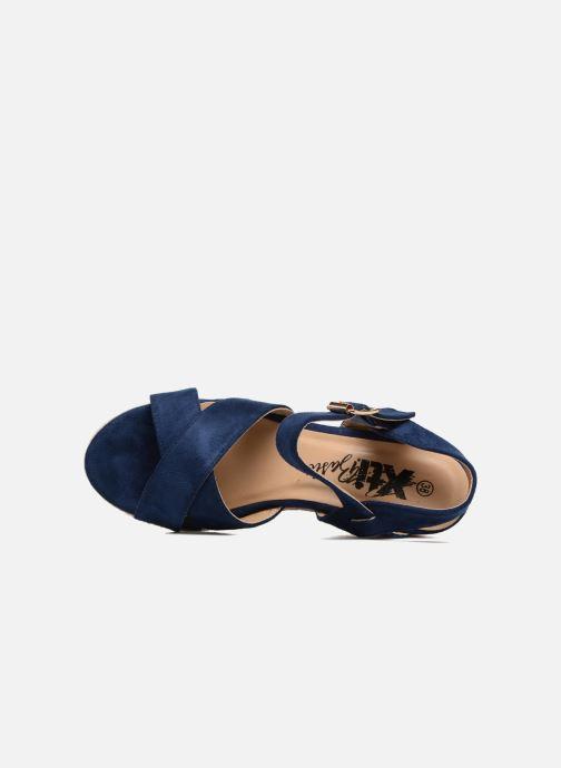 Sandales et nu-pieds Xti Issum 33450 Bleu vue gauche
