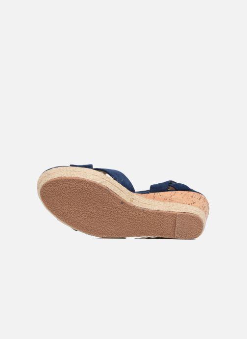 Sandales et nu-pieds Xti Issum 33450 Bleu vue haut