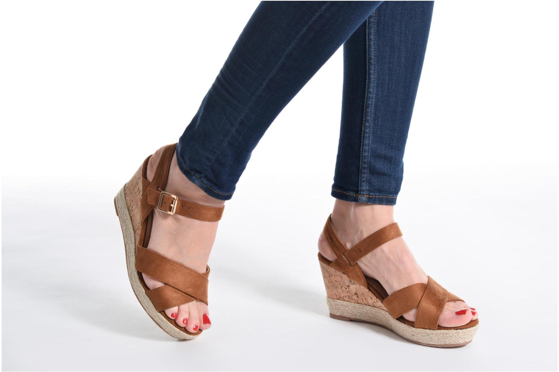 Sandales et nu-pieds Xti Issum 33450 Bleu vue bas / vue portée sac