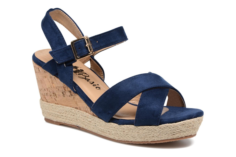 Sandales et nu-pieds Xti Issum 33450 Bleu vue détail/paire