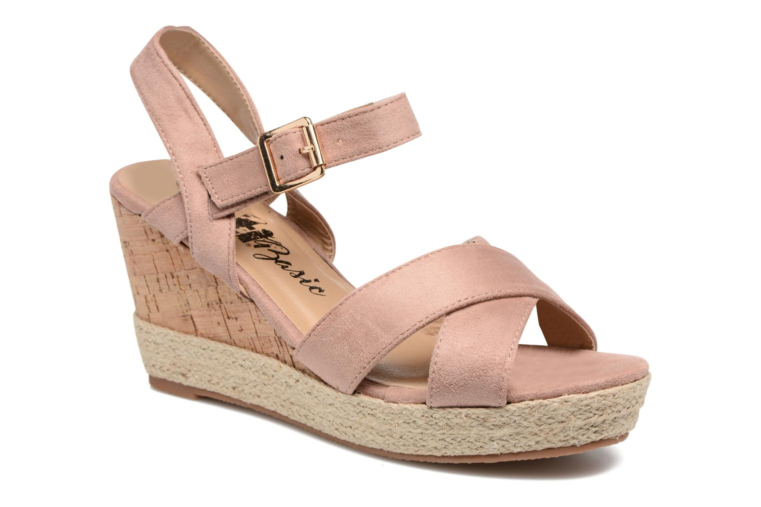 Sandals Xti Issum 33450 Pink detailed view/ Pair view