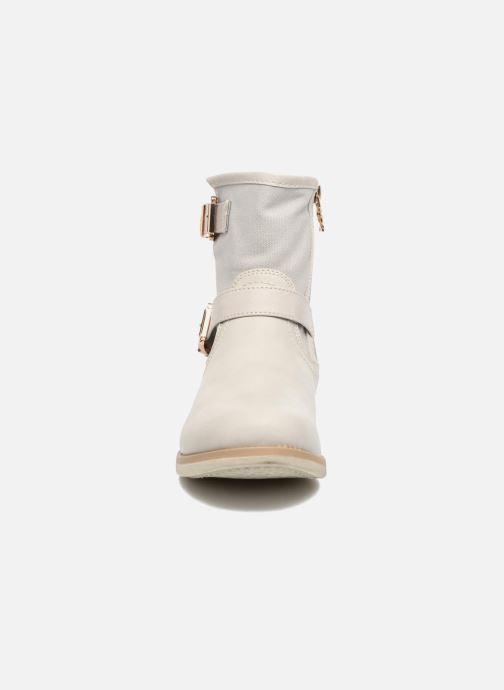 Bottines et boots Xti Ymza 33406 Blanc vue portées chaussures