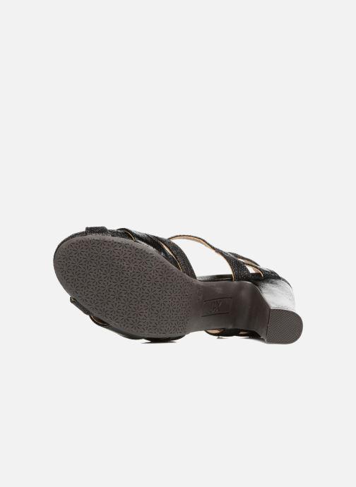 Sandales et nu-pieds Xti Martha 30610 Noir vue haut