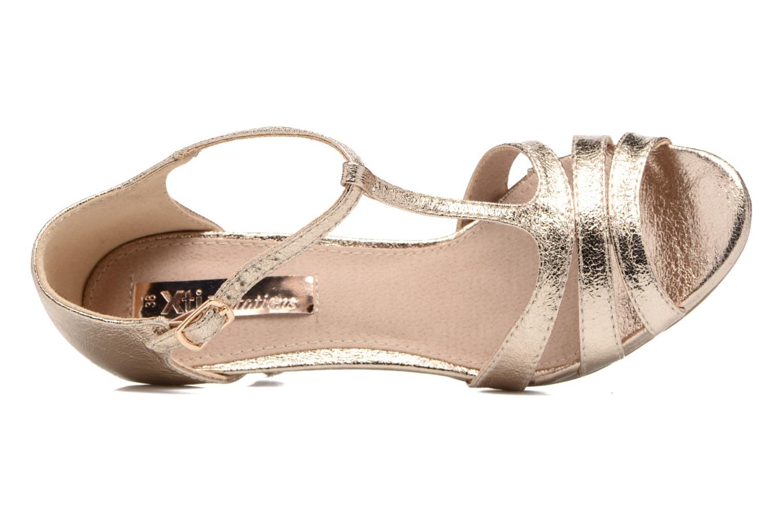 Sandaler Xti Omoi 30568 Guld og bronze se fra venstre
