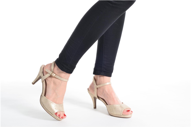 Sandales et nu-pieds Xti Ohdac 30598 Or et bronze vue bas / vue portée sac