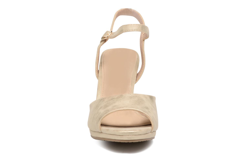 Sandales et nu-pieds Xti Ohdac 30598 Or et bronze vue portées chaussures