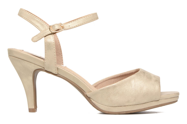 Sandales et nu-pieds Xti Ohdac 30598 Or et bronze vue derrière