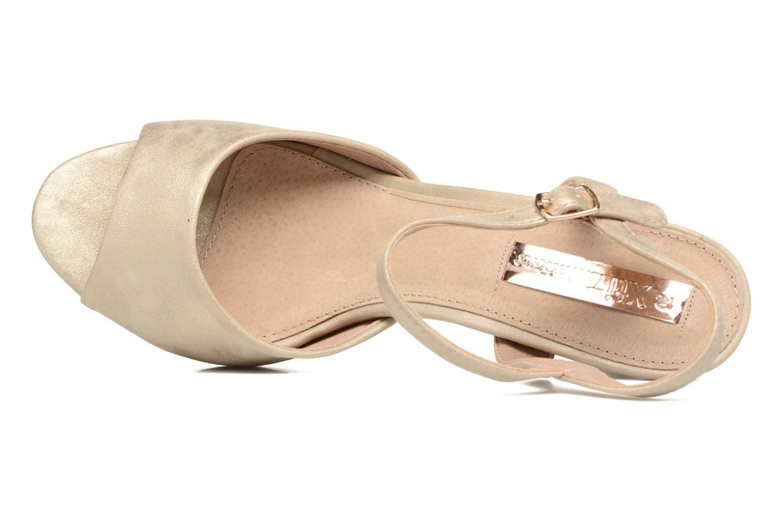 Sandales et nu-pieds Xti Ohdac 30598 Or et bronze vue gauche