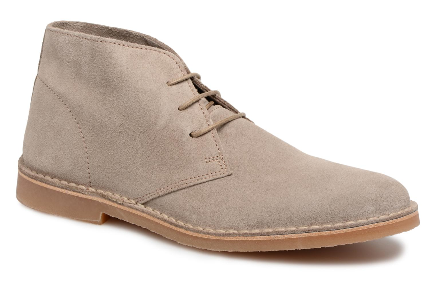 Bottines et boots Selected Homme Royce Light Boot 2 Gris vue détail/paire