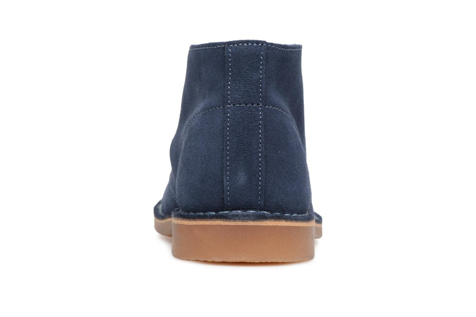 Ankle boots Selected Homme Royce Light Boot 2 Blue view from the right
