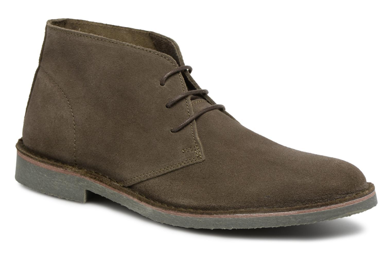 Ankelstøvler Selected Homme Royce Light Boot 2 Grøn detaljeret billede af skoene
