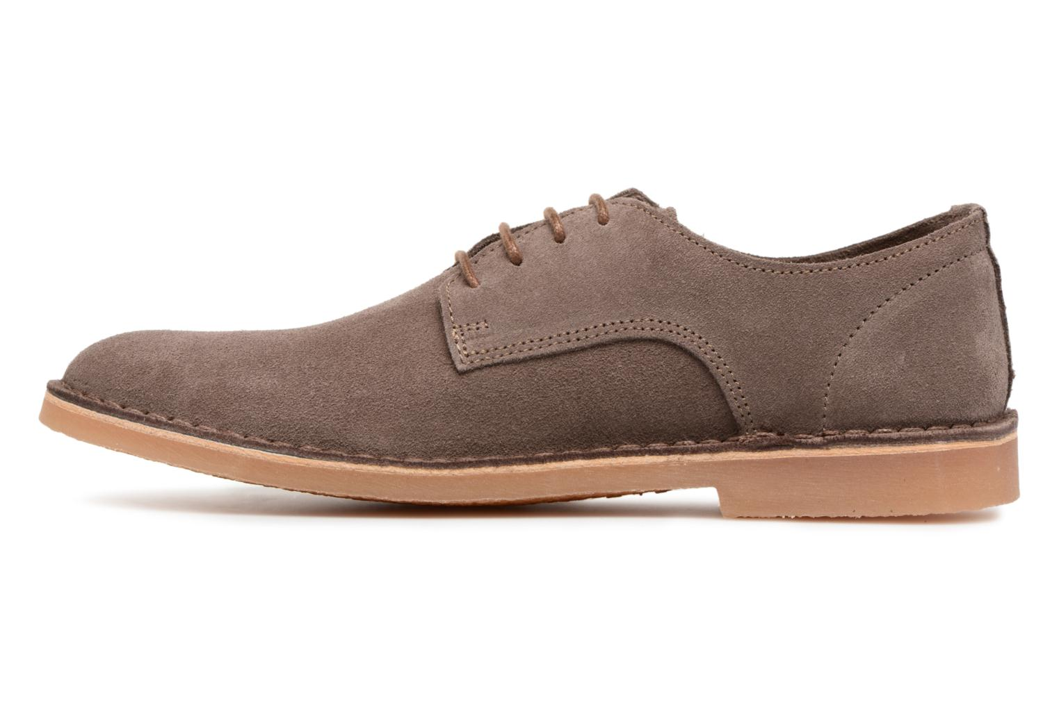 Zapatos con cordones Selected Homme Royce 2 Marrón vista de frente