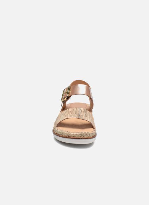 Sandales et nu-pieds Kanna Doha Or et bronze vue portées chaussures