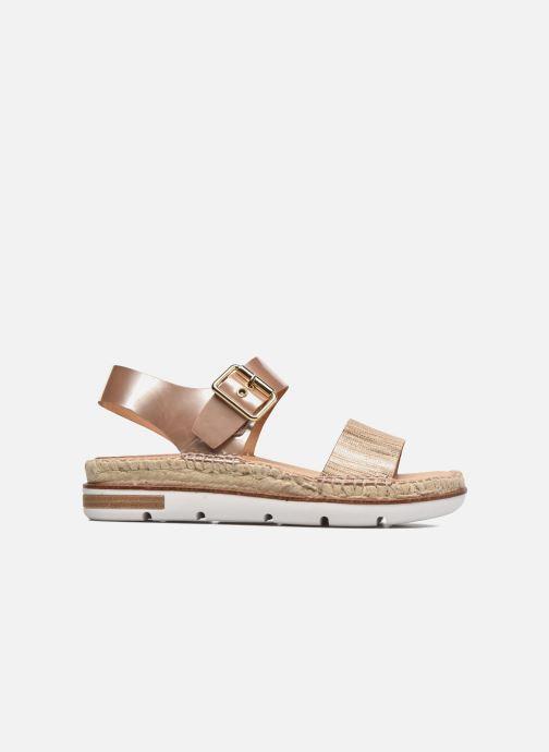Sandales et nu-pieds Kanna Doha Or et bronze vue derrière