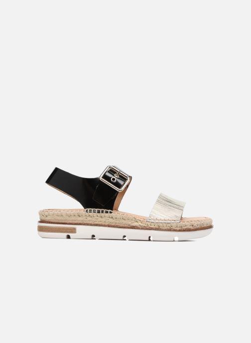Sandales et nu-pieds Kanna Doha Noir vue derrière
