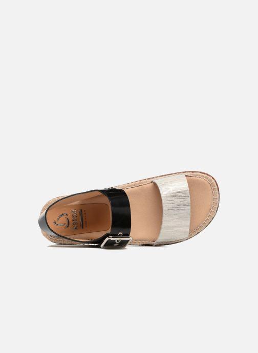 Sandales et nu-pieds Kanna Doha Noir vue gauche