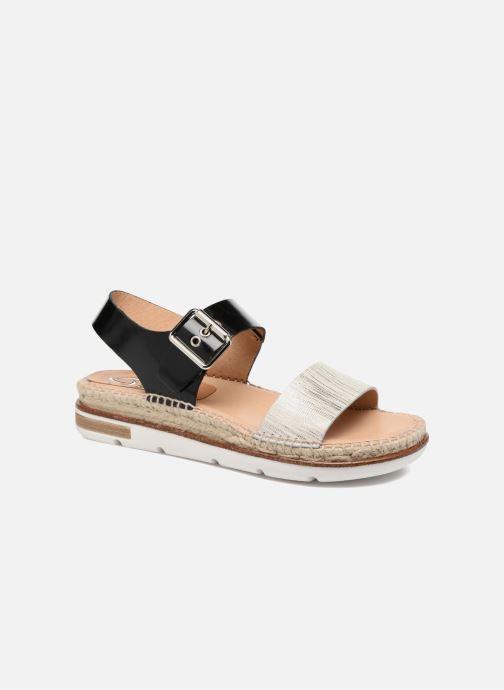 Sandales et nu-pieds Kanna Doha Noir vue détail/paire