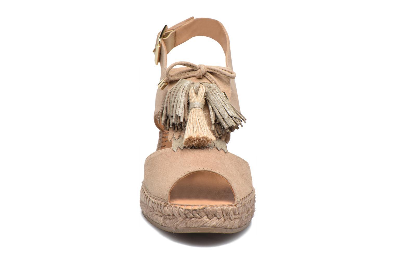 Espadrilles Kanna Malaisia Beige vue portées chaussures