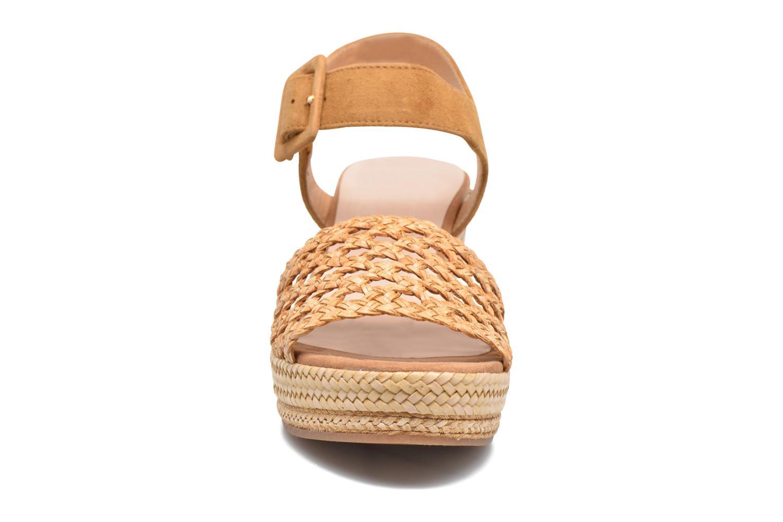 Espadrilles Kanna Niza Marron vue portées chaussures