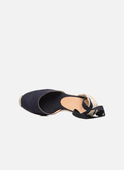 Espadrilles Castaner Carina H8 Blue view from the left
