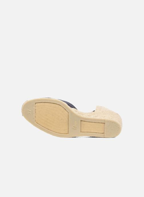 Espadrilles Castaner Carina H8 Blue view from above