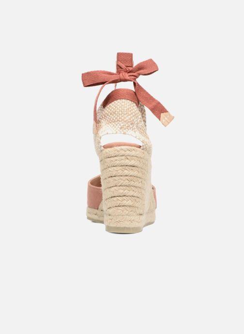 Scarpe di corda Castaner Carina H8 Rosa immagine destra