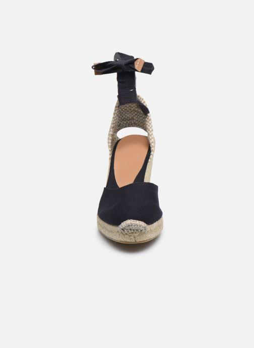 Espadrilles Castaner Carina H8 Bleu vue portées chaussures